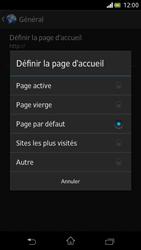 Sony Xperia V - Internet et roaming de données - Configuration manuelle - Étape 23