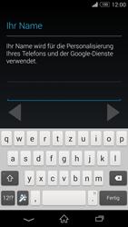 Sony D6603 Xperia Z3 - Apps - Konto anlegen und einrichten - Schritt 7