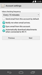 Huawei Ascend P6 - E-mail - 032b. Email wizard - Yahoo - Step 8