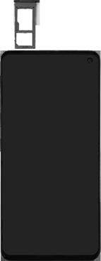 Samsung Galaxy S10e - SIM-Karte - Einlegen - Schritt 3