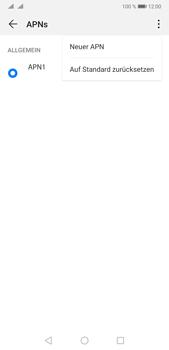 Huawei P20 Pro - Android Pie - Internet und Datenroaming - Manuelle Konfiguration - Schritt 8