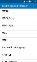 Samsung Galaxy J1 - MMS - Manuelle Konfiguration - 12 / 20