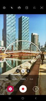 Samsung Galaxy Note20 - Photos, vidéos, musique - Créer une vidéo - Étape 11