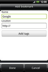 HTC A510e Wildfire S - Internet - Internet browsing - Step 6