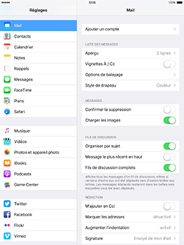 Apple iPad Mini 3 iOS 10 - E-mail - Configuration manuelle (yahoo) - Étape 4