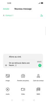 Oppo Find X2 Lite - Contact, Appels, SMS/MMS - Envoyer un MMS - Étape 14