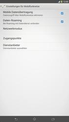 Sony Xperia Z Ultra LTE - Ausland - Im Ausland surfen – Datenroaming - 0 / 0