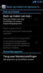 Huawei Ascend Y300 - Resetten - Fabrieksinstellingen terugzetten - Stap 5