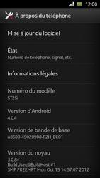 Sony Xperia U - Logiciels - Installation de mises à jour - Étape 6