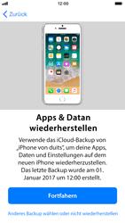 Apple iPhone SE - iOS 11 - Persönliche Einstellungen von einem alten iPhone übertragen - 17 / 29
