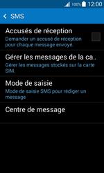 Samsung G318H Galaxy Trend 2 Lite - SMS - Configuration manuelle - Étape 9