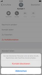Apple iPhone 6s - iOS 13 - Anrufe - Anrufe blockieren - Schritt 6