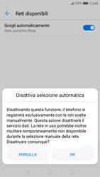 Huawei P10 - Rete - Selezione manuale della rete - Fase 7