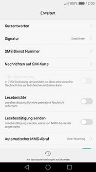 Huawei P9 Plus - SMS - Manuelle Konfiguration - Schritt 7