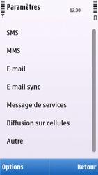 Nokia C5-03 - MMS - configuration manuelle - Étape 19