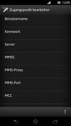 Sony Xperia T - Internet und Datenroaming - Manuelle Konfiguration - Schritt 12