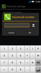 Alcatel OT-5036X Pop C5 - Voicemail - Manual configuration - Step 10