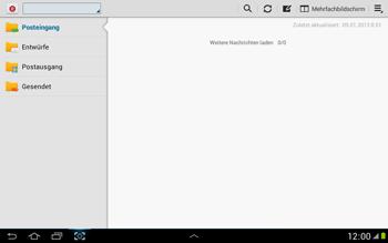 Samsung N8000 Galaxy Note 10-1 - E-Mail - E-Mail versenden - Schritt 16