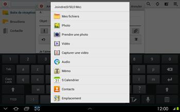 Samsung P5100 Galaxy Tab 2 10-1 - E-mail - envoyer un e-mail - Étape 10