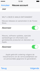 Apple iPhone 5c (iOS 9) - apps - account instellen - stap 17