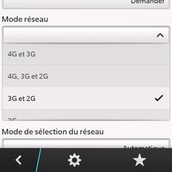 BlackBerry Q10 - Internet et connexion - Activer la 4G - Étape 7