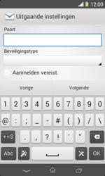 Sony D2005 Xperia E1 - E-mail - Account instellen (POP3 zonder SMTP-verificatie) - Stap 14