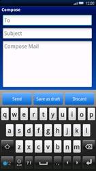 Sony Xperia X10 - E-mail - Sending emails - Step 5