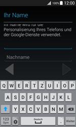 Samsung Galaxy J1 - Apps - Konto anlegen und einrichten - 6 / 19
