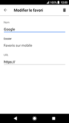 Sony Xperia X Compact - Android Oreo - Internet - navigation sur Internet - Étape 10