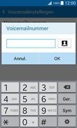 Samsung Galaxy Xcover 3 (G388F) - Voicemail - Handmatig instellen - Stap 9