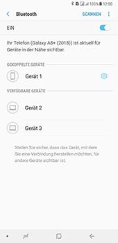 Samsung Galaxy A8 Plus (2018) - Bluetooth - Geräte koppeln - Schritt 11