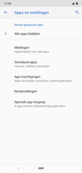 Nokia 7.1 - Android Pie - apps - apps afsluiten - stap 5
