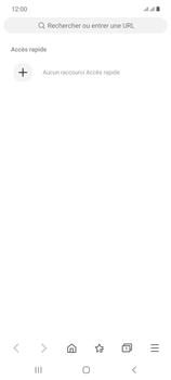 Samsung Galaxy Note20 - Internet et connexion - Naviguer sur internet - Étape 6