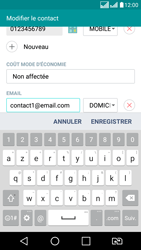 LG LG K8 - Contact, Appels, SMS/MMS - Ajouter un contact - Étape 9