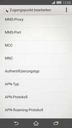 Sony Xperia Z2 - Internet - Manuelle Konfiguration - Schritt 12