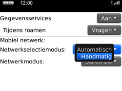 BlackBerry 9700 Bold - netwerk en bereik - gebruik in binnen- en buitenland - stap 5