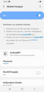 Samsung Galaxy S9 - Android Pie - WiFi - So aktivieren Sie einen WLAN-Hotspot - Schritt 13