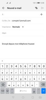 Huawei Nova 5T - E-mails - Envoyer un e-mail - Étape 5