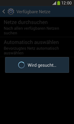 Samsung Galaxy Ace III - Netzwerk - Manuelle Netzwerkwahl - Schritt 7