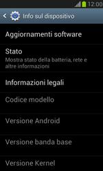 Samsung Galaxy S III Mini - Software - Installazione degli aggiornamenti software - Fase 6
