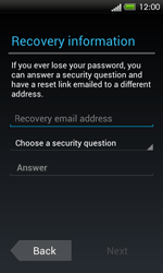 HTC One SV - Applications - Setting up the application store - Step 9