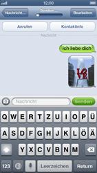 Apple iPhone 5 - MMS - Erstellen und senden - Schritt 15