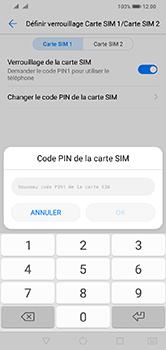 Huawei Y7 (2019) - Sécurité - modifier SIM PIN - Étape 10