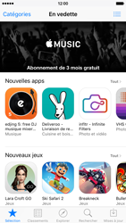 Apple iPhone 6s - Applications - Comment vérifier les mises à jour des applications - Étape 3