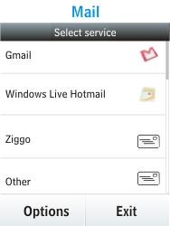 Nokia Asha 300 - E-mail - Manual configuration - Step 5