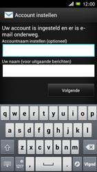 Sony ST26i Xperia J - e-mail - handmatig instellen - stap 16