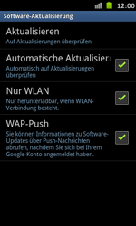 Samsung Galaxy S Advance - Software - Installieren von Software-Updates - Schritt 7
