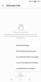 Huawei Mate 10 Pro - Anrufe - Anrufe blockieren - Schritt 8
