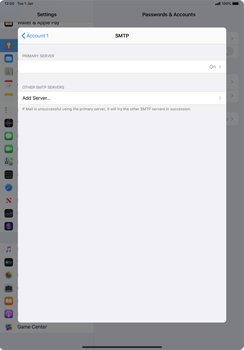 Apple iPad Pro 11 (2018) - iPadOS 13 - E-mail - manual configuration - Step 17