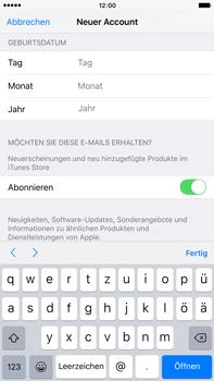 Apple iPhone 6 Plus - Apps - Konto anlegen und einrichten - 1 / 1